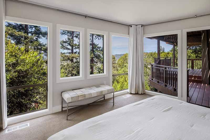 Master bedroom and view, 10 Woodhue Lane