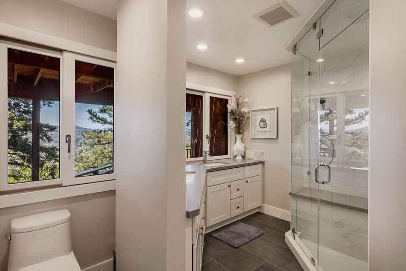 Remodeled Master bathroom, 10 Woodhue Lane