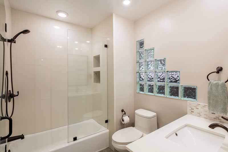 Remodeled Bath on lower level, 10 Woodhue lane