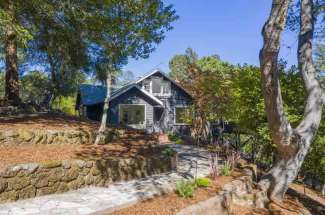 100 Edison Ave – An Estate Property in Old Town Corte Madera