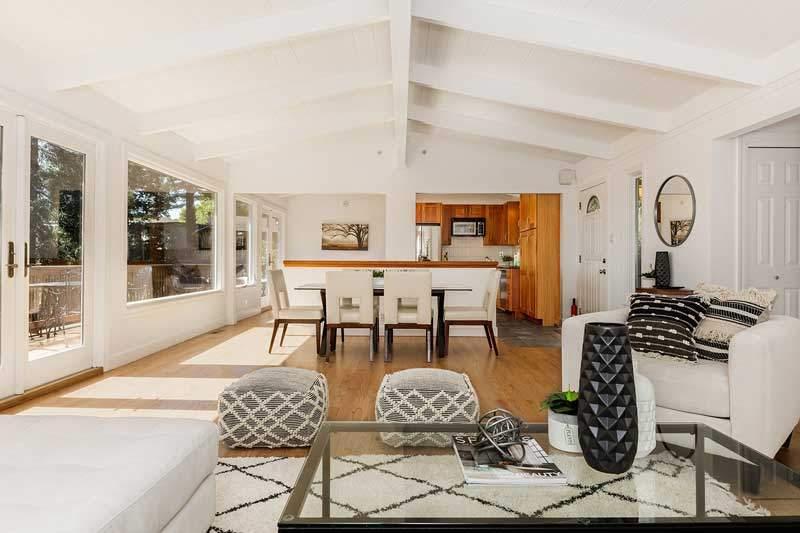 Living  room at 1220 El Cide Ct, Mill Valley, CA