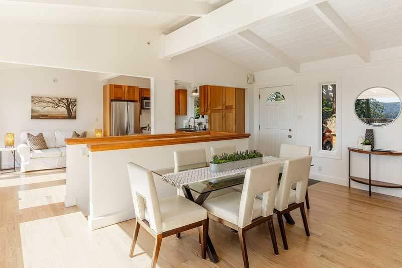 Dining room at 1220 El Cide Ct, Mill Valley, CA