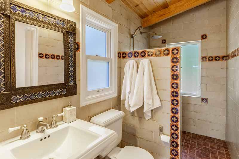 Master bathroom at 1220 El Cide Ct, Mill Valley, CA