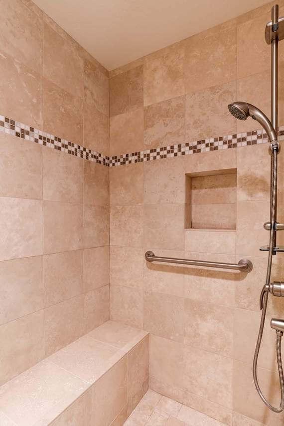 Master bathroom shower | 565 Via Casitas #32, Greenbrae, CA