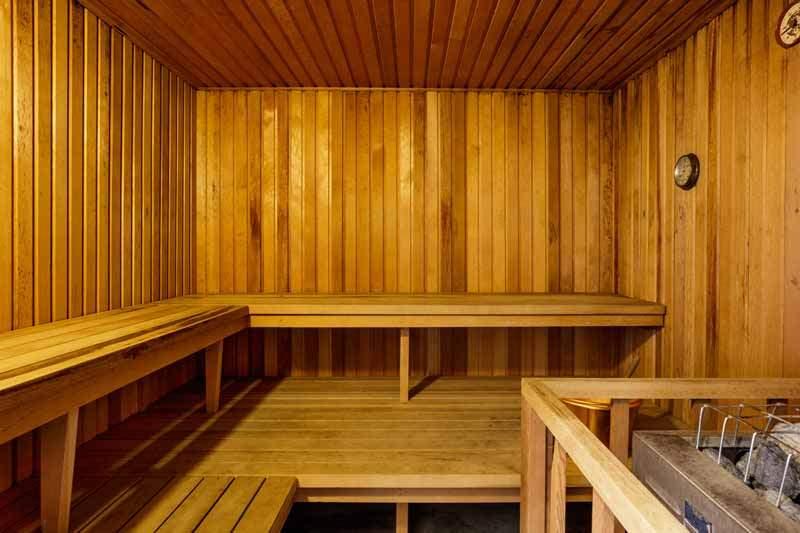 Sauna at the Knolls