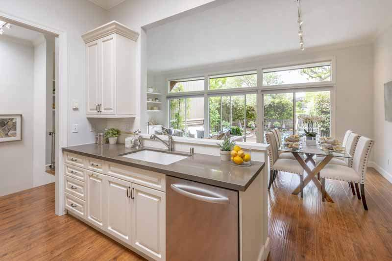 Kitchen and dining room, , 8 Greenside Way