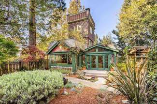 Magical Mountain-Top Home in Mill Valley
