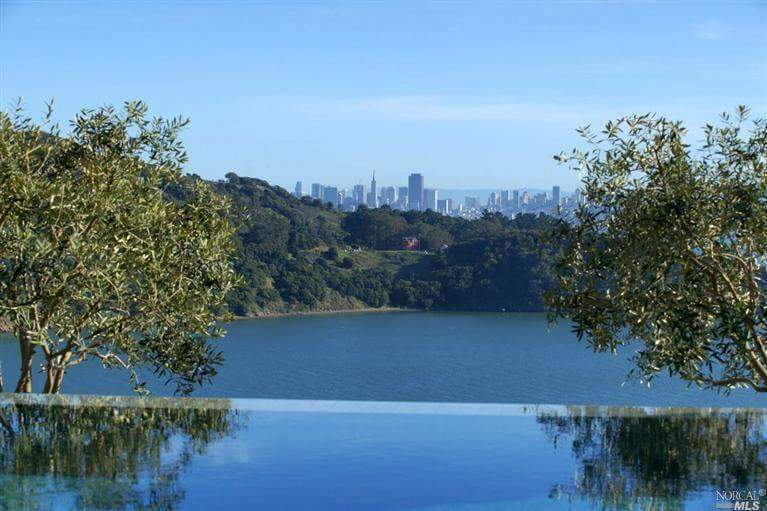 Tiburon, CA home with San Francisco view