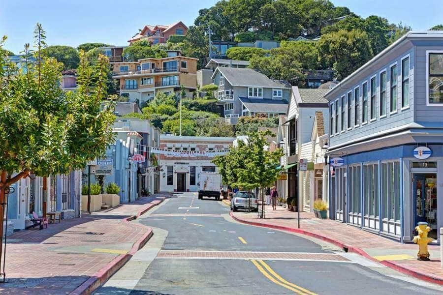 Main Street Tiburon CA