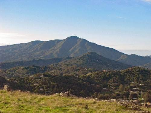 Mount Tamalpais from Ring Mountian