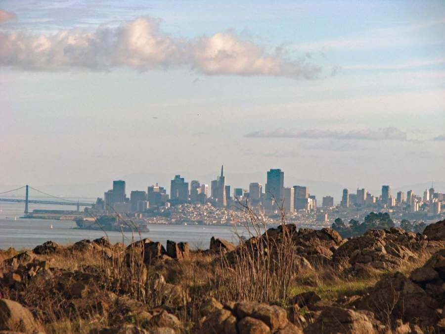 San Francisco from Ring Mountain