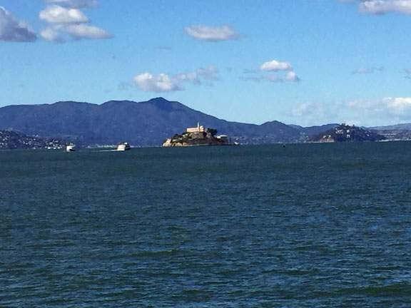 Mt. Tam w Alcatraz
