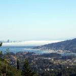 San Francisco View From Corte Madera, CA
