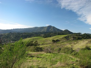 Hiking on Ring Mountain in Corte Madera, CA