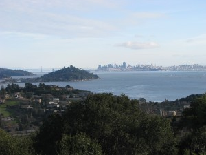 Tiburon Peninsula and San Francisco Bay
