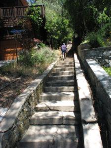 Chapman Park Staircase Corte Madera California