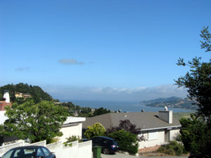 View of SF Bay from Greenbrae CA
