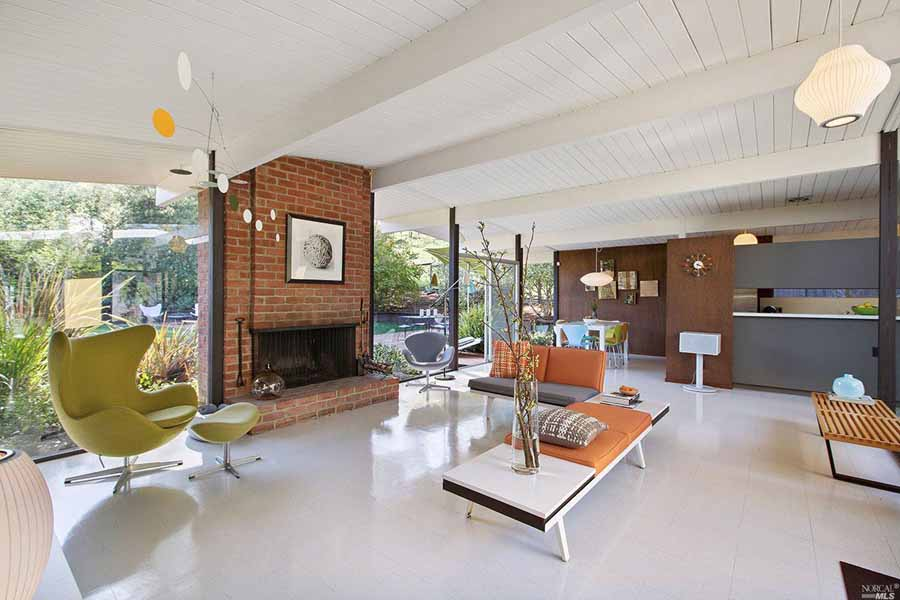 Eichler home in San Rafael