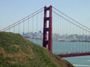 Golden Gate Bridge from Marin