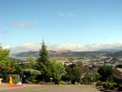 Greenbrae CA with view of Bay