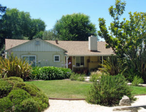 Original ranch style home in Belveron, Tiburon. See our blog on the renaissance of this neighborhood.