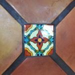 Floor tiles in kitchen, 34 Miramar Ave, San Rafael, CA