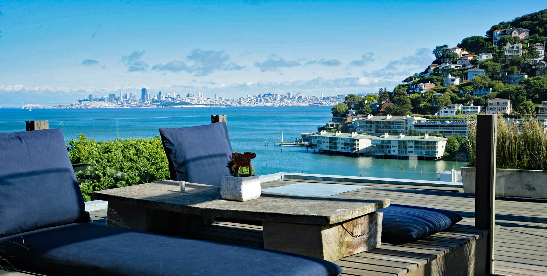 View from Sausalito deck