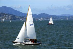 Sailing in San Francisco Bay