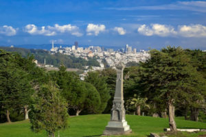 View from Legion of Honor, San Francisco