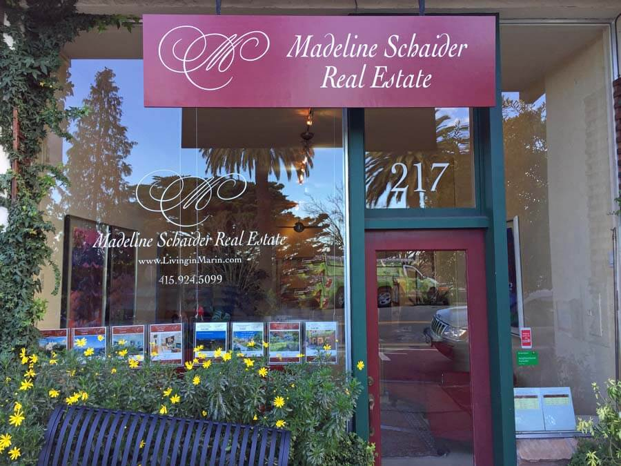Madeline Schaider Real Estate office Corte Madera, CA