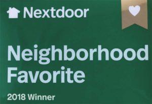 Nextdoor, Neighborhood Favorite, 2018 Winner