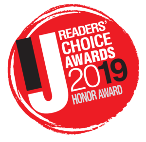 Readers Choice 2019 Honor Award Marin Independent Journal