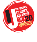 2020 Readers' Choice Awards logo