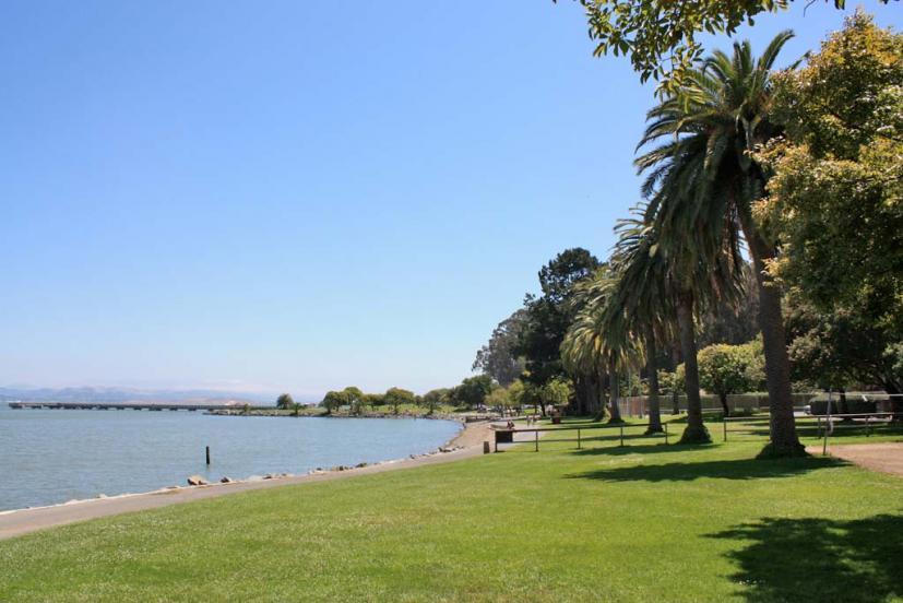 McNears Beach Park in San Rafael, CA