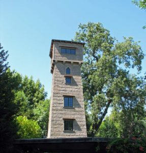 Old water tower, Yolanda Park, San Anselmo, CA